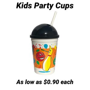 Kids Bowling Party Cups