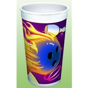 Bowling Souvenir Party Cup 32 oz