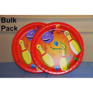 Bowling Party Plate Bulk Pack-0