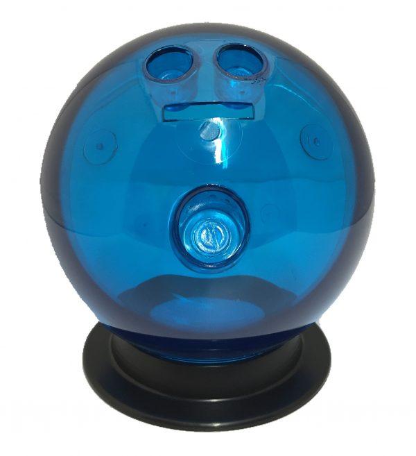 Blue Bowling Ball Bank