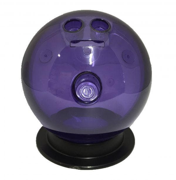 Purple Bowling Ball Bank
