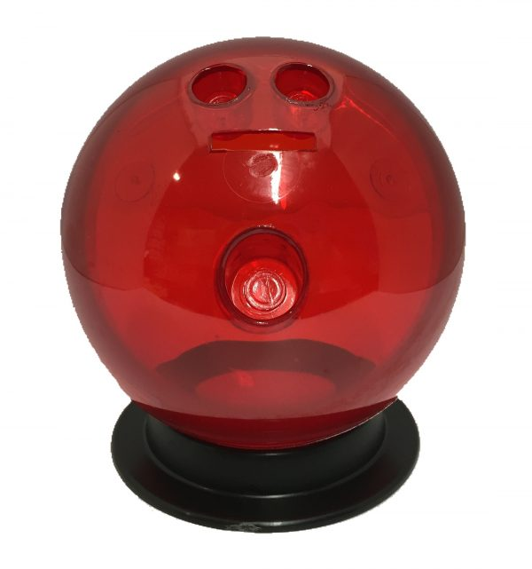 Red Bowling Ball Bank