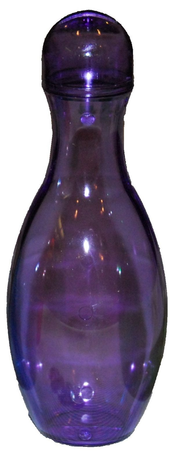 Purple Bowling Pin Bank