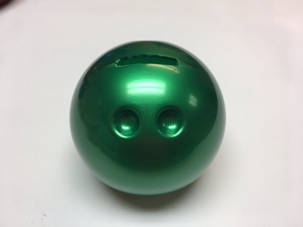 Small Bowling Ball Bank Green