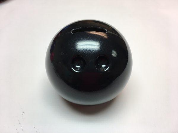 Small Bowling Ball Bank Black