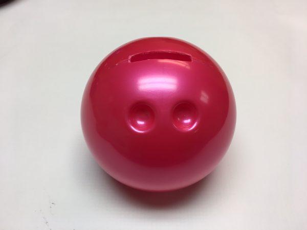 Small Bowling Ball Bank Pink