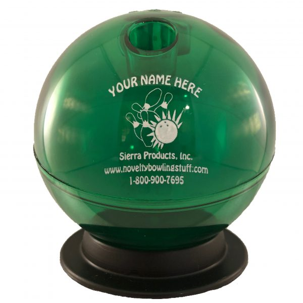 Personalized Bowling Ball Bank Green