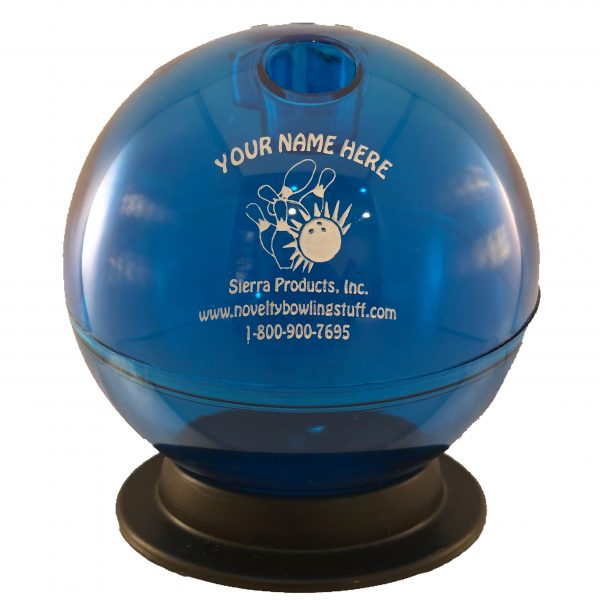 Personalized Bowling Ball Bank Blue